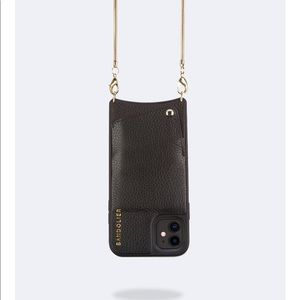 Bandolier black Pebble Leather case iPhone 11
